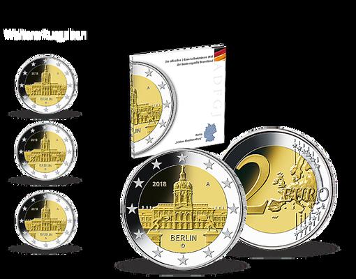 Kollektion Komplett Sätze Der Deutschen 2 Euro Gedenkmünzen