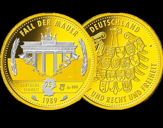 50-Euro-Goldmünze Lutherrose
