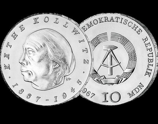 10 Ddr Mark 1967 Käthe Kollwitz Mdm Deutsche Münze