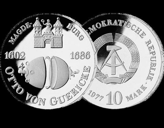 10 Mark Ddr 1977 Otto Von Guericke Mdm Deutsche Münze