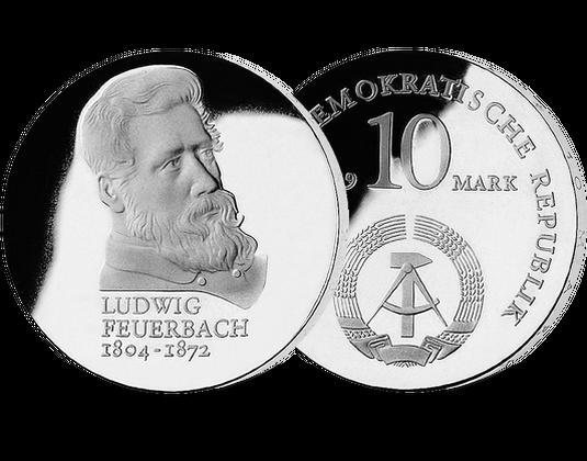 10 Mark Ddr 1979 Ludwig Feuerbach Mdm Deutsche Münze