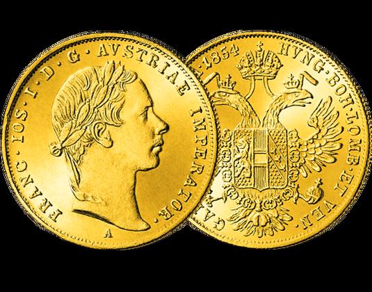 Der Erste Dukat Von Kaiser Franz Joseph Mdm Deutsche Münze