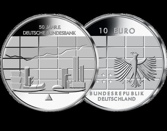 10 Euro Münze Bundesbank Mdm Deutsche Münze