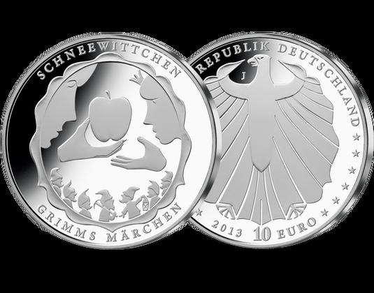 10 Euro Münze 2013 Schneewittchen Mdm Deutsche Münze