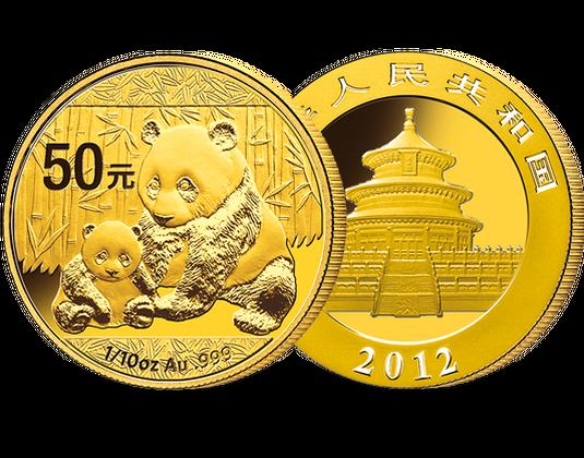 Chinas Legendären Panda Münzen Mdm Deutsche Münze