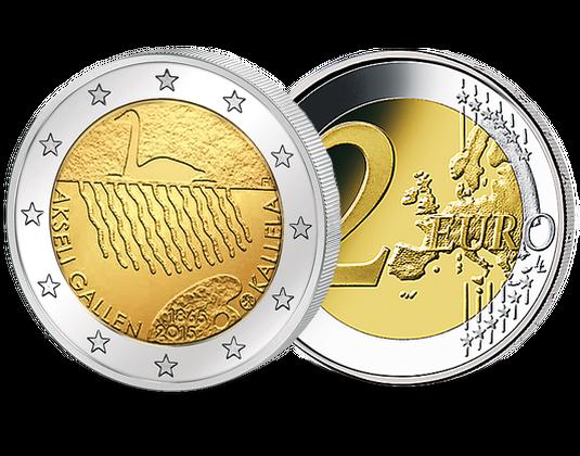 2 Euro Münze Finnland 2015 Mdm Deutsche Münze