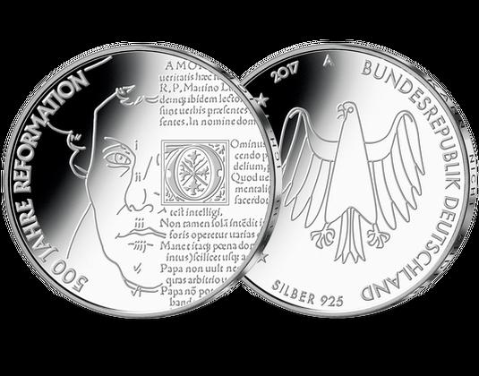 Silbermünze 20 Euro 500 Jahre Reformation Mdm Deutsche Münze
