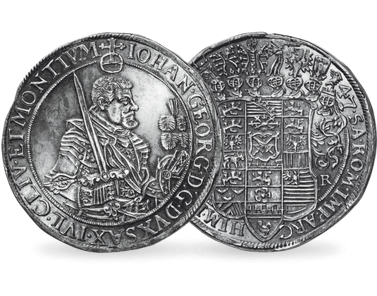 Taler Sachsen Johann Georg I Mdm Deutsche Münze
