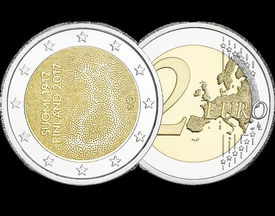Finnland 2017 2 Euro Gedenkmünze Unabhängigkeit Mdm Deutsche Münze