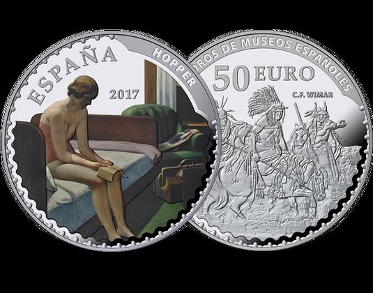Spanien 2017 Münze Thyssen Bornemisza Mdm Deutsche Münze