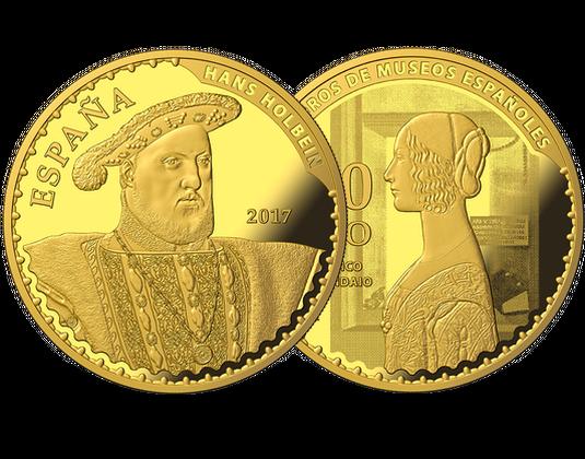 Spanien 2017 Gold Gedenkmünze Thyssen Bornemisza Mdm Deutsche Münze