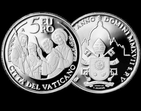 Vatikan 2017 Silber Gedenkmünze 50 Weltfreidenstag Mdm Deutsche
