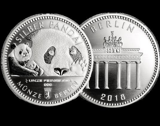 Deutscher Silber Panda 2018 14 Unze Silber 9991000 Mdm
