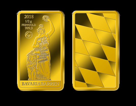 Bavariabarren 100 Jahre Freistaat Bayern Mdm Deutsche Münze