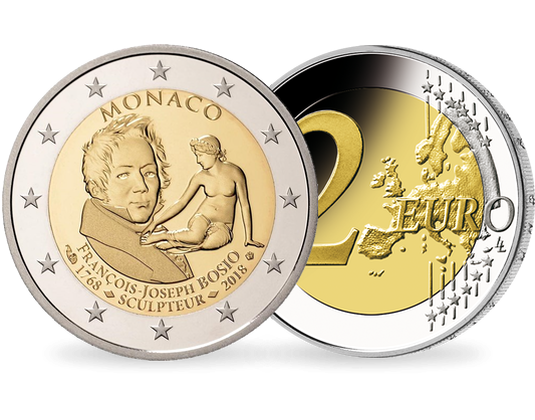 Monaco 2018 2 Euro Gedenkmünze 250 Geburtstag Von François Joseph