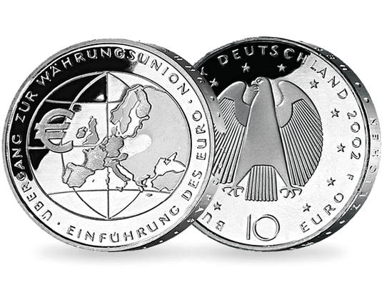10 Euro Münzen Von 2002 2016 Mdm Deutsche Münze