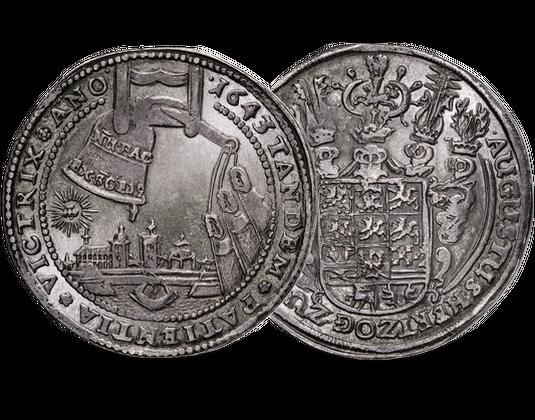 Glockentaler 1643 Braunschweig August Ii Mdm Deutsche Münze