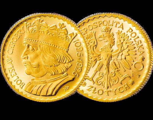 10 Zloty Goldmünze Polen Mdm Deutsche Münze