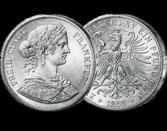 Der Letzte Doppeltaler Aus Frankfurt Mdm Deutsche Münze