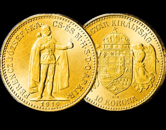 10 Kronen Goldmünze Ungarn Kaiser Franz Joseph Mdm Deutsche Münze