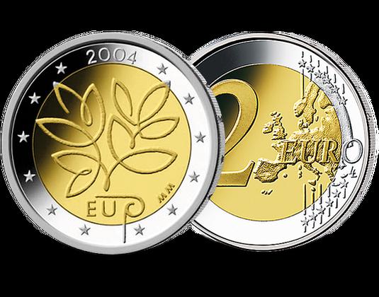 2 Euro Finnland 2004 Erweiterung Der Europäischen Union Mdm