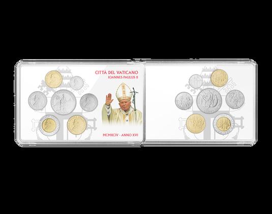 Vatikan Johannes Paul Ii Komplettsatz Anno Xvi Mdm Deutsche Münze