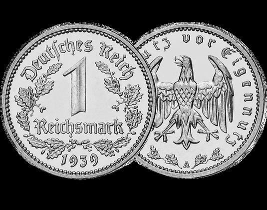 1 Reichsmark Münze Deutsches Reich Mdm Deutsche Münze