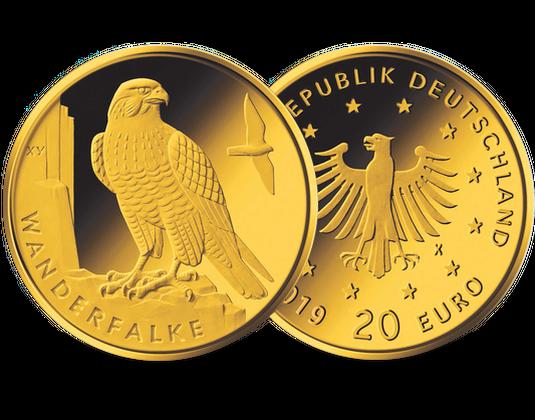 Die Neue Deutsche 20 Euro Gold Gedenkmünze Heimische Vögel
