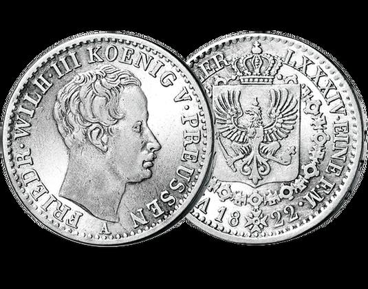 Taler Preußen Friedrich Wilhelm Iii Mdm Deutsche Münze