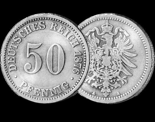 50 Pfennig Des Deutschen Reiches Mdm Deutsche Münze