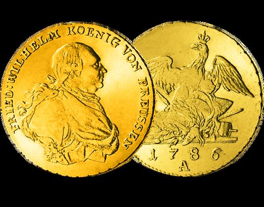 Goldmünze Preußen Friedrichs Dor 1786 1797 Mdm Deutsche Münze