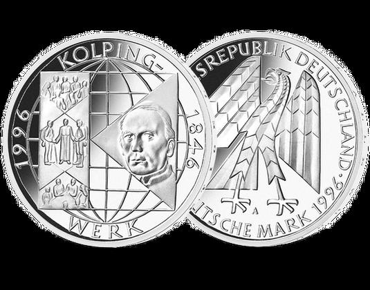 10 Dm Münze 1996 150 Jahre Kolpingwerk Mdm Deutsche Münze