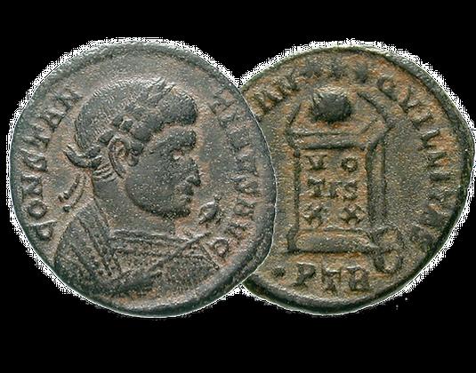 Münze Römisches Kaiserreich Konstantin Der Große Mdm Deutsche Münze