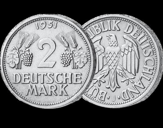 2 Dm 1951 ähren Mdm Deutsche Münze