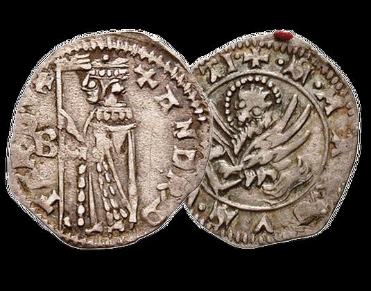 Silbermünze Aus Dem Mittelalter Mdm Deutsche Münze