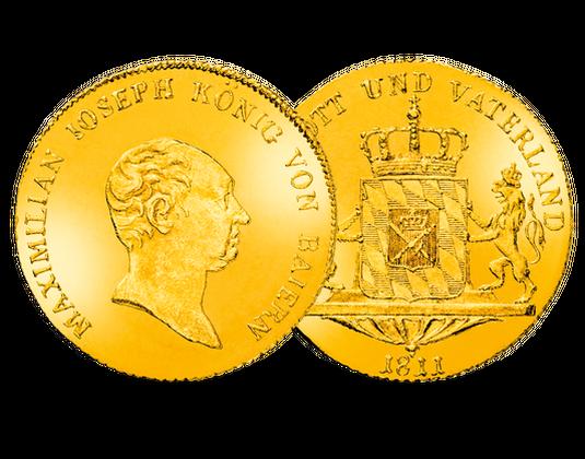 Bayern Dukat 18071823 Maximilian I Joseph Mdm Deutsche Münze