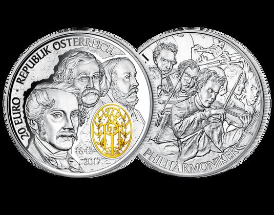 20 Euro Silbermünze 2017 175 Jahre Wiener Philharmoniker 20