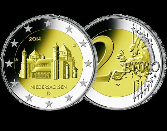 2 Euro Münze 2014 Niedersachsen Mdm Deutsche Münze