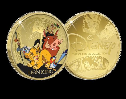 La Frappe Dorée Classiques Disney Le Roi Lion Société Française Des