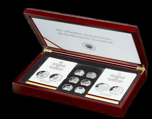Präsentationskassette Für 10 Euro Gedenkmünzen Von 2002 2015 Mdm