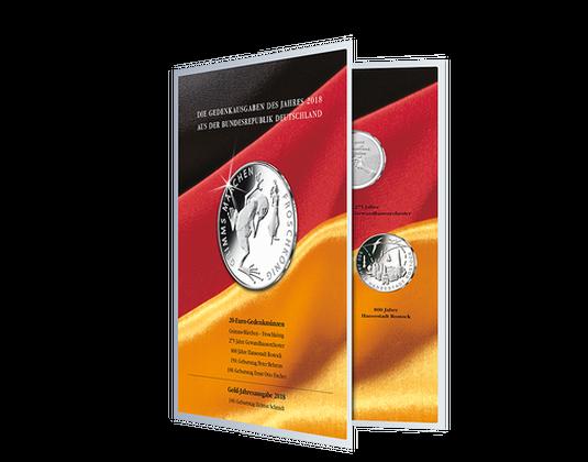 Aufbewahrungsalben Der Offiziellen Deutschen 20 Euro Gedenkmünzen