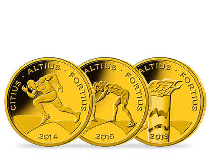 A Complete Set: Brazil's first and only Olympic Games gold commemorative coins