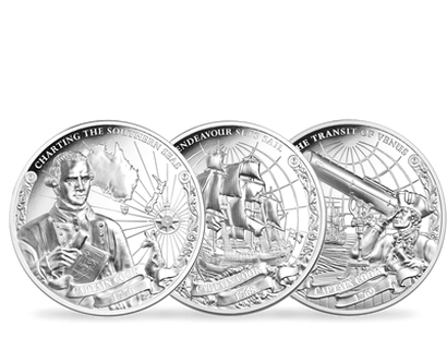 Captain Cook 2018 Ultra High Relief 1oz $5 Silver Proof Set