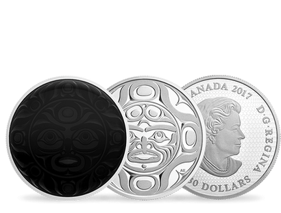 Phases of the Moon 2017 $30 Fine Silver 3-Coin Set