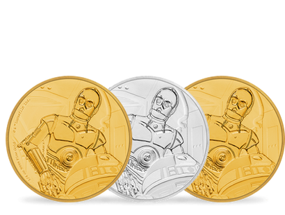 Star Wars Classic – C-3PO Gold & Silver Coins