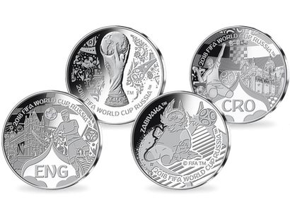2018 FIFA World Cup Russia™ England V Croatia Commemorative Set
