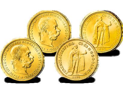 Historische Goldmünzen Aus österreich Imm Münz Institut