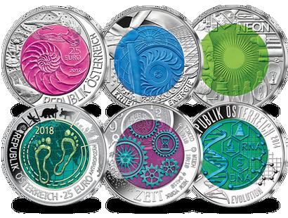Münzen Aus österreich Imm Münz Institut