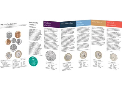 The Royal Mint 2019 Brilliant Uncirculated Annual Coin Set