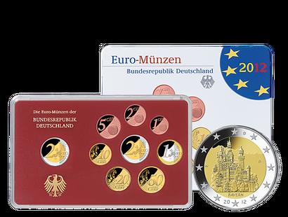 Deutsche Euro Kursmünzensätze Mdm Deutsche Münze